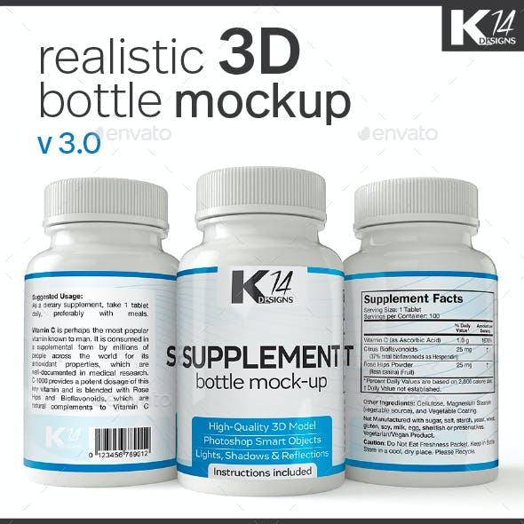 Supplement Bottle Mock-Up v3.0