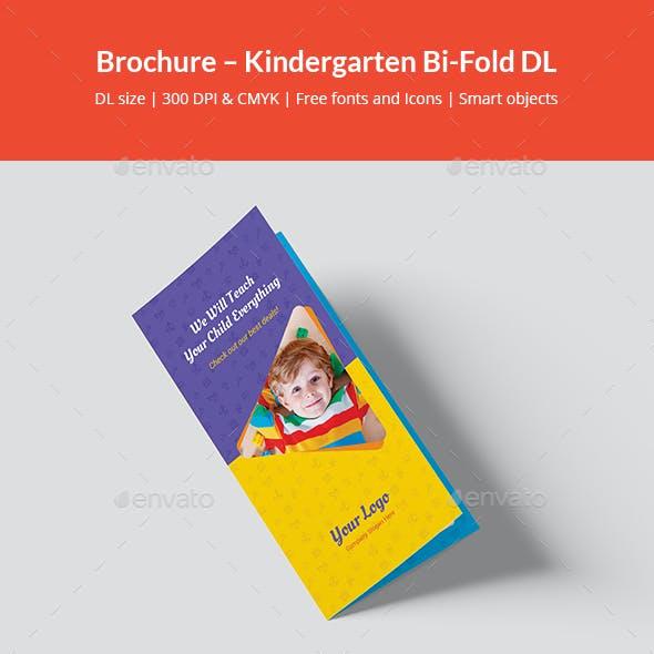 Brochure – Kindergarten Bi-Fold DL