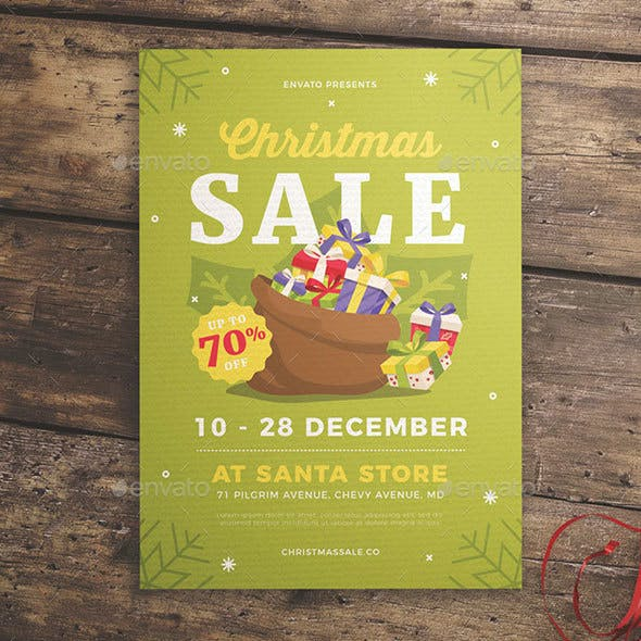 Christmas Gift Sale Flyer
