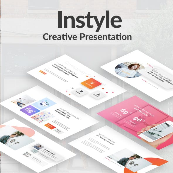 Instyle Creative Keynote Template