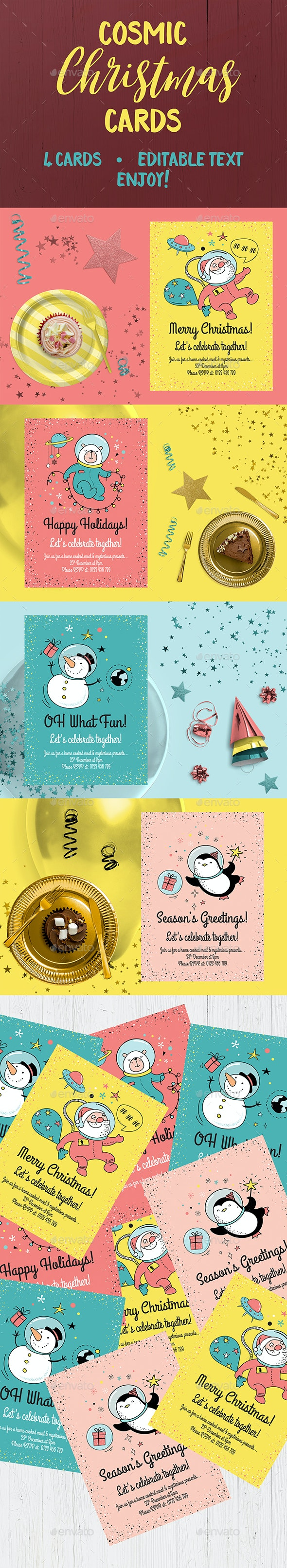 Christmas Cards - Holidays Events