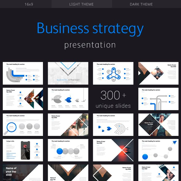 Business Strategy Corporate Powerpoint