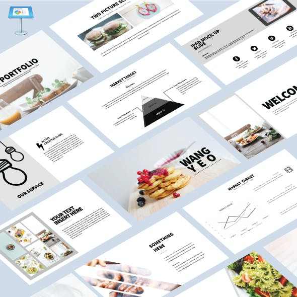 Wang Yeo - Keynote Powerpoint Template