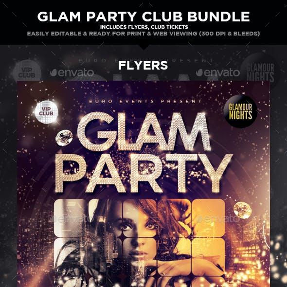 Glam Party & Club Event Bundle Set