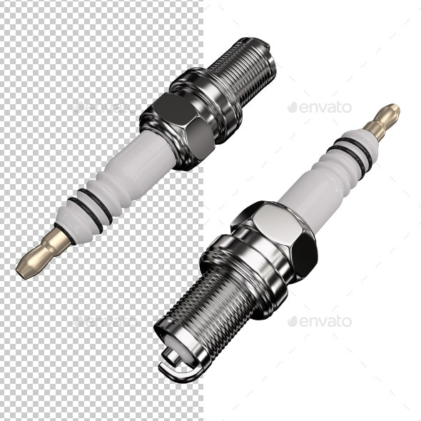 Spark plug - Objects 3D Renders