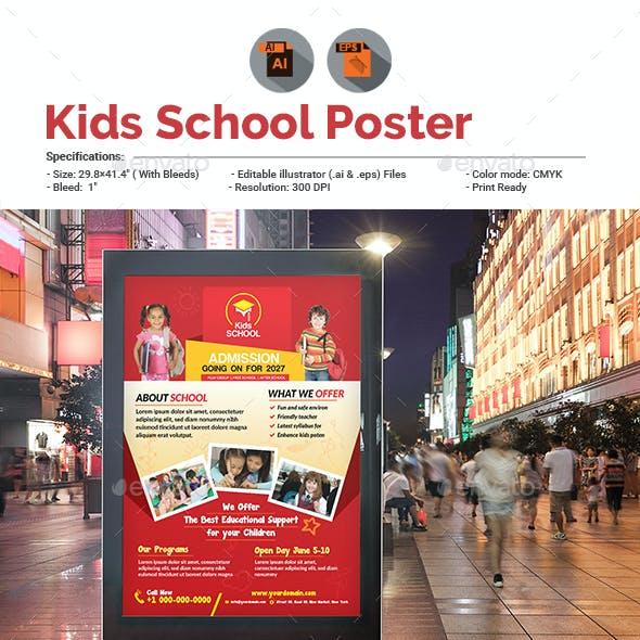 School Promotion Poster