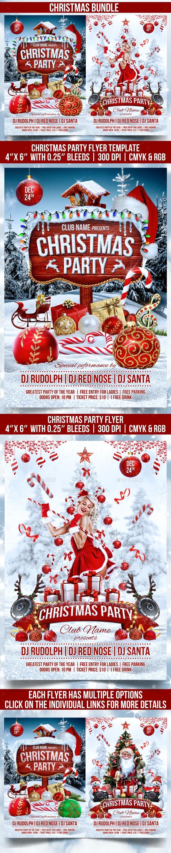 Christmas Bundle - Events Flyers