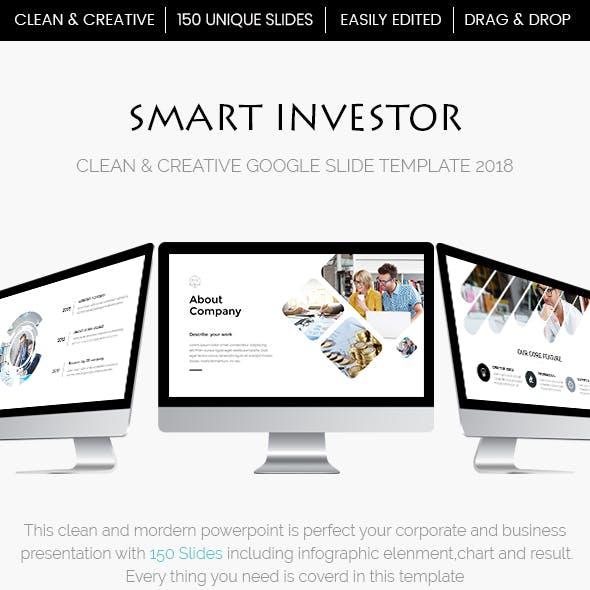 Smart Investor - Efffective Google Slide Template 2018