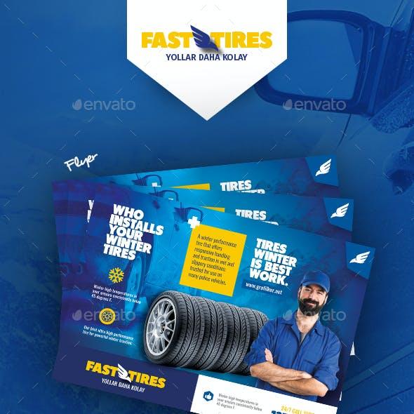 Auto Tires Bundle Templates
