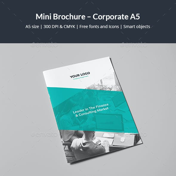 Mini Brochure – Corporate A5