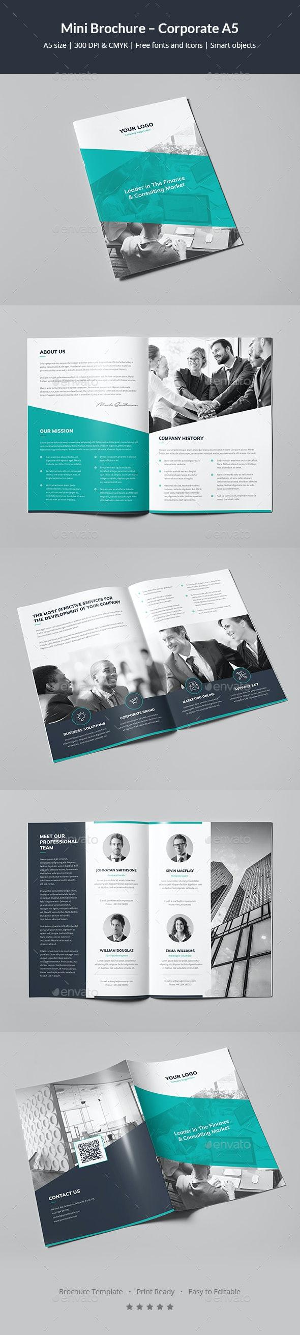 Mini Brochure – Corporate A5 - Corporate Brochures