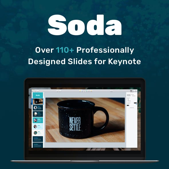 Soda - Keynote Presentation Template