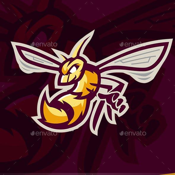 Bee Sport Mascot