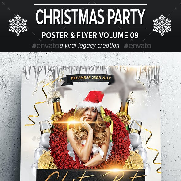 Christmas Party Poster / Flyer V09