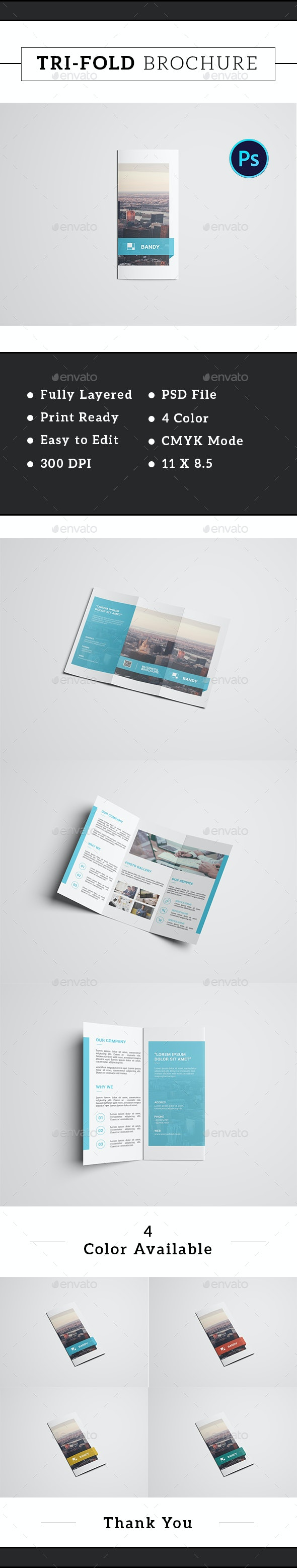 Trifold Corporate Brochure-V297 - Corporate Brochures
