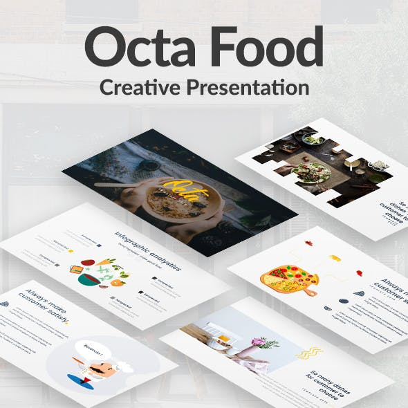 Octa Food Keynote Template