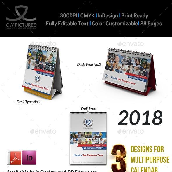Calendar 2018 Bundle