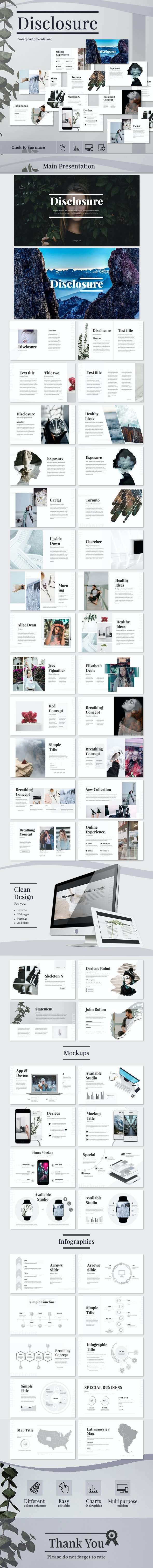 Disclosure - Business PowerPoint Templates