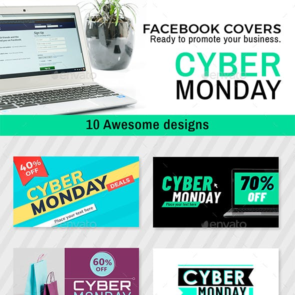 Cyber Monday - Facebook Timeline Cover