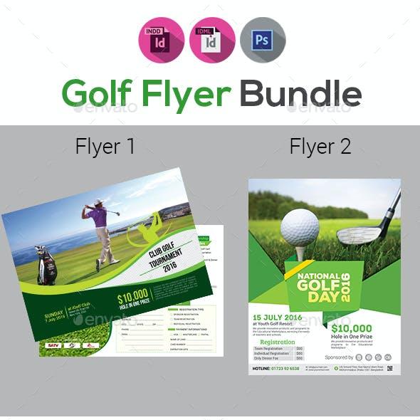 Golf Flyers Bundle