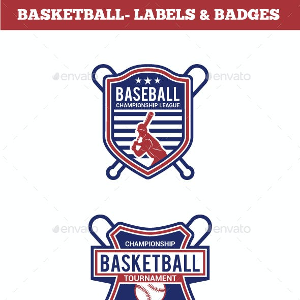 Baseball Badge & Stickers 4