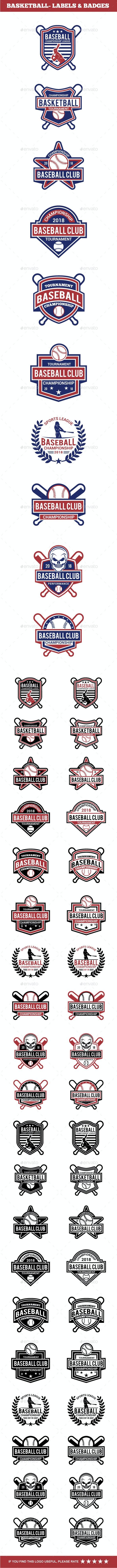 Baseball Badge & Stickers 4