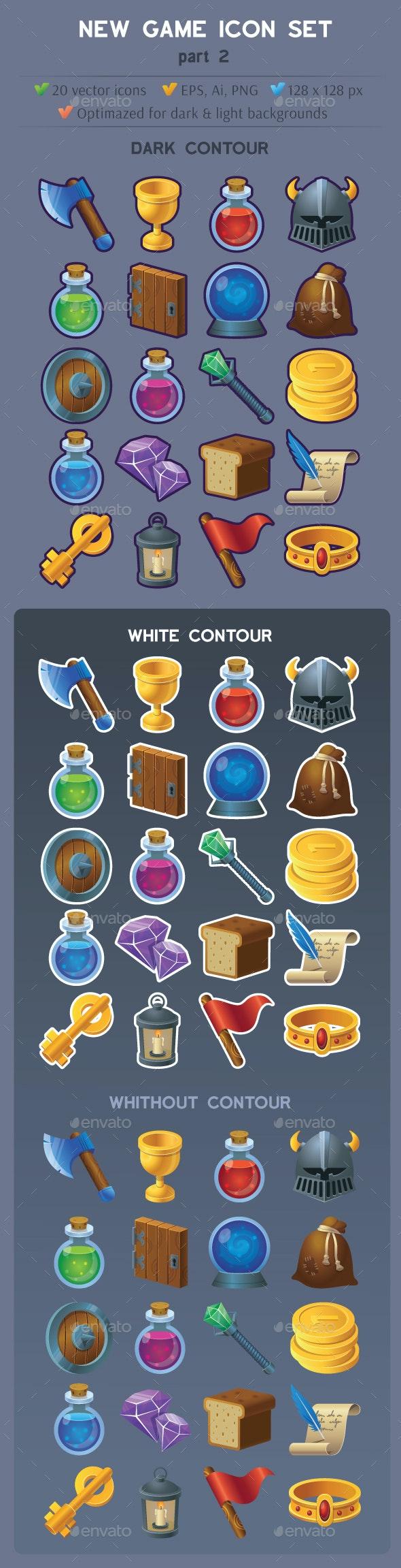 New Game Icon Set part 2