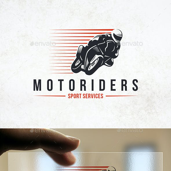 Speed Moto Logo Template