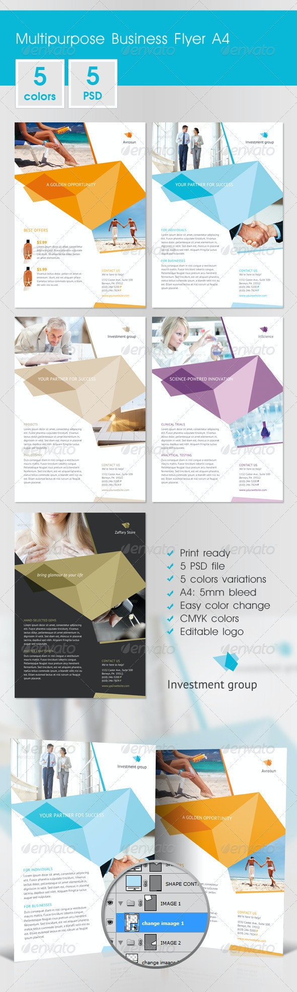 Multipurpose Business Flyer A4 - Corporate Flyers