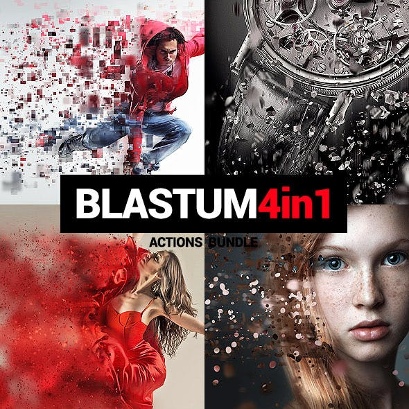 4in1 Bundle - Blastum - Photoshop Actions