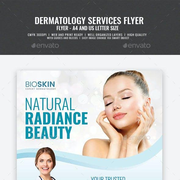 Dermatology Services Flyer