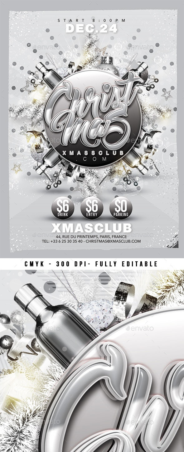Silver Christmas Party - Clubs & Parties Events