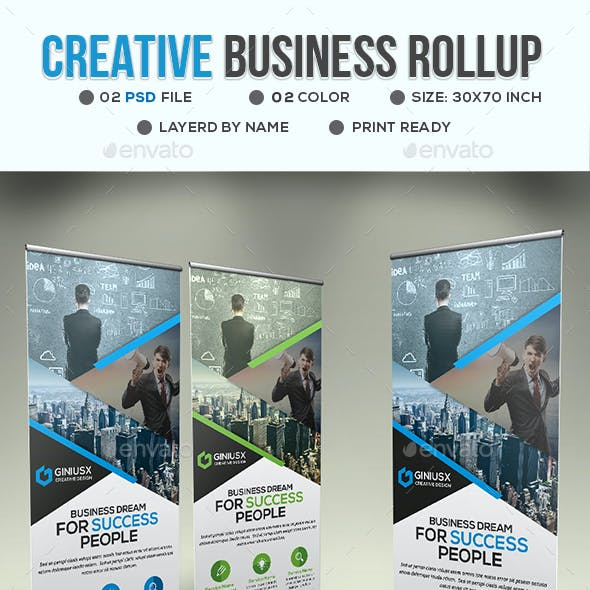 Creative Business Roll Up