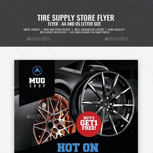 Tire Supply Shop Flyer