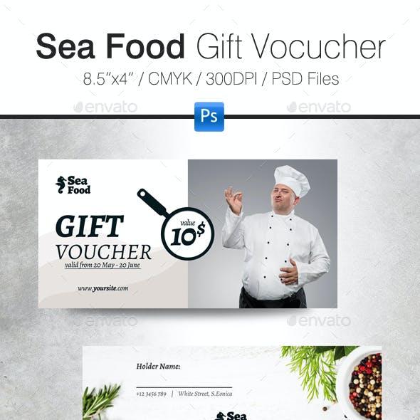 Sea Food Gift Voucher