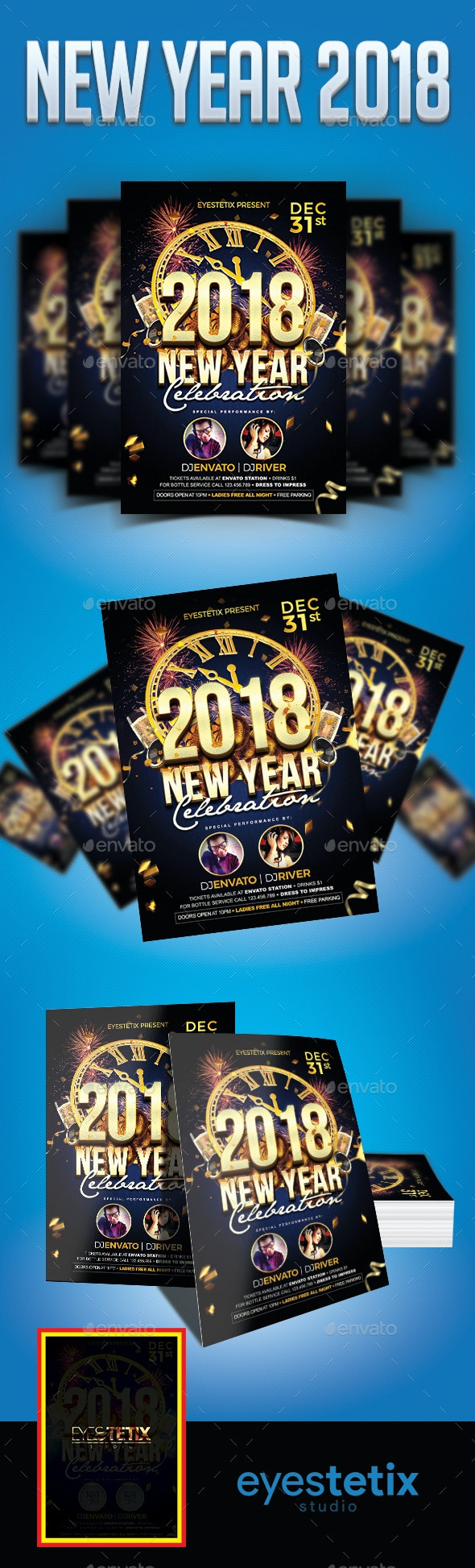 New Year 2018 - Holidays Events
