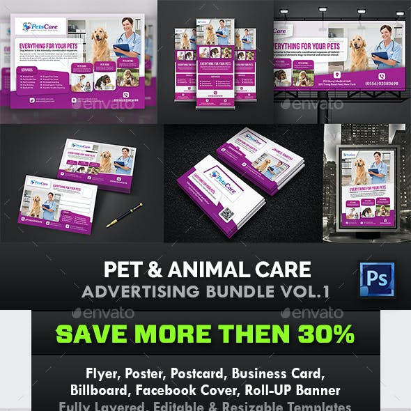 Pet Care Advertising Bundle Vol.1