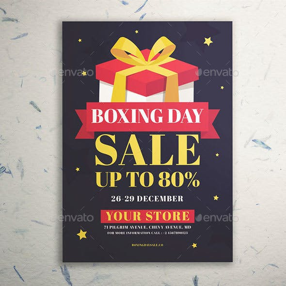 Boxing Day Sale Flyer Vol. 02