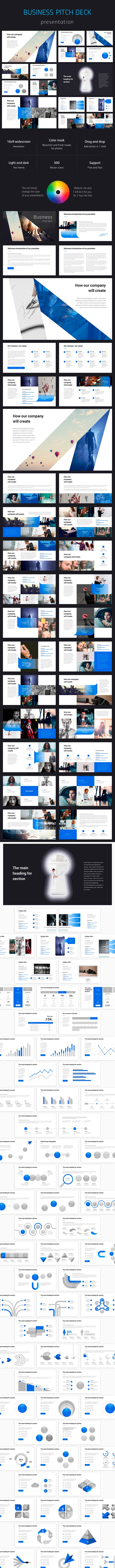 Business Pitch Deck Powerpoint - Pitch Deck PowerPoint Templates