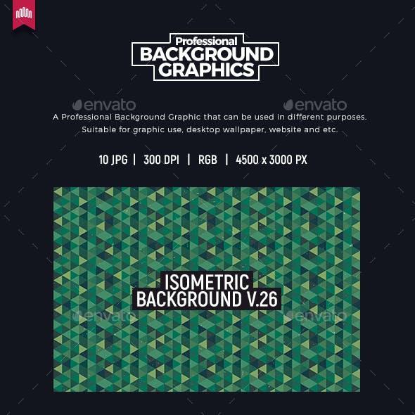 Isometric Background V.26