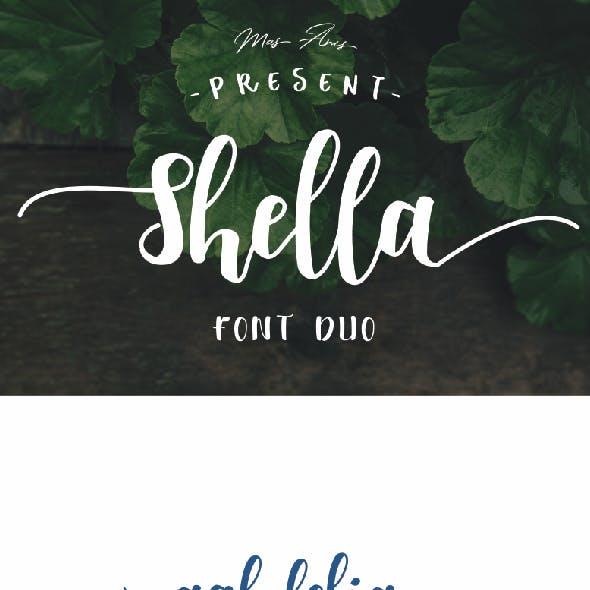 Shella Font Duo - Intro Sale !