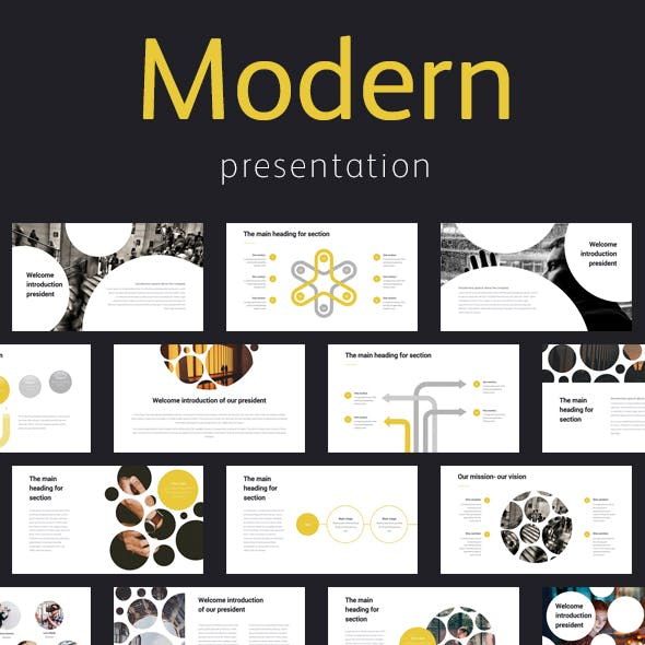 Modern Elegant Professional Keynote