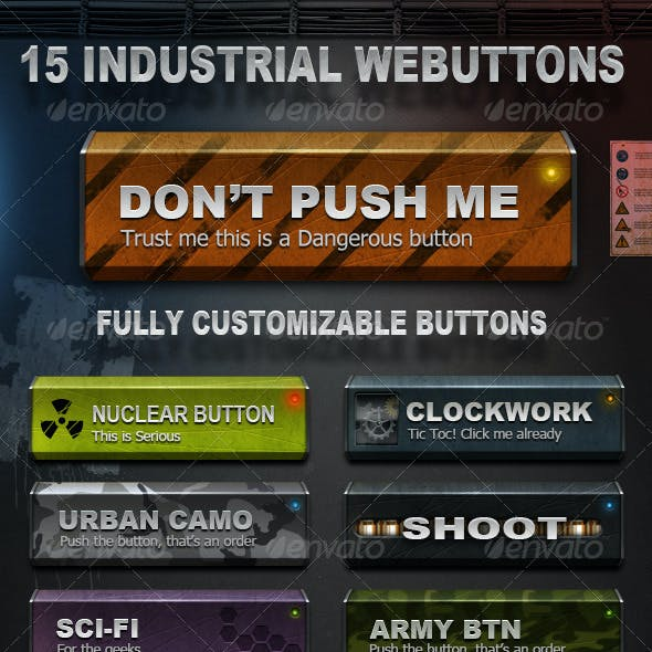 Industrial Web Buttons