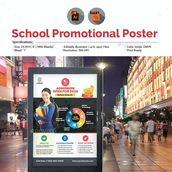 Junior School Poster Template