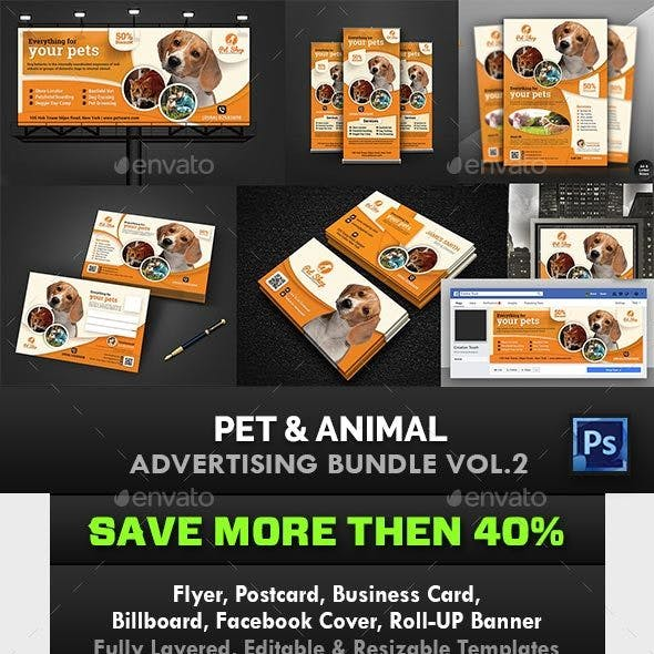 Pet & Animal Advertising Bundle Vol.2