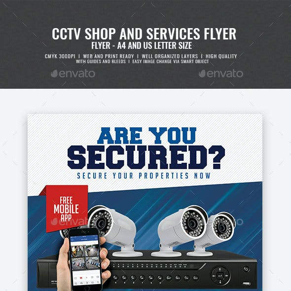 CCTV Package Flyer
