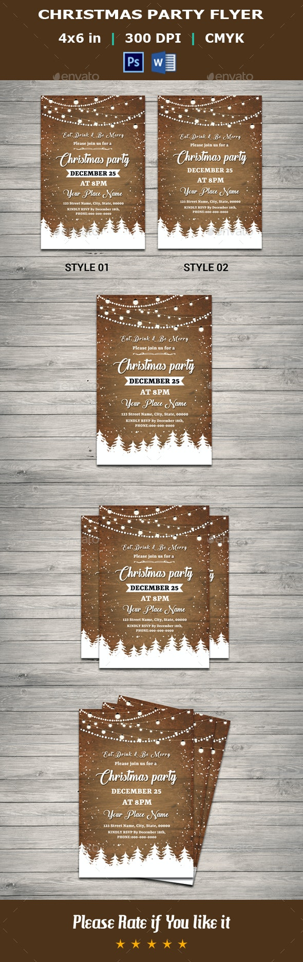 Christmas Party Flyer V14 - Events Flyers
