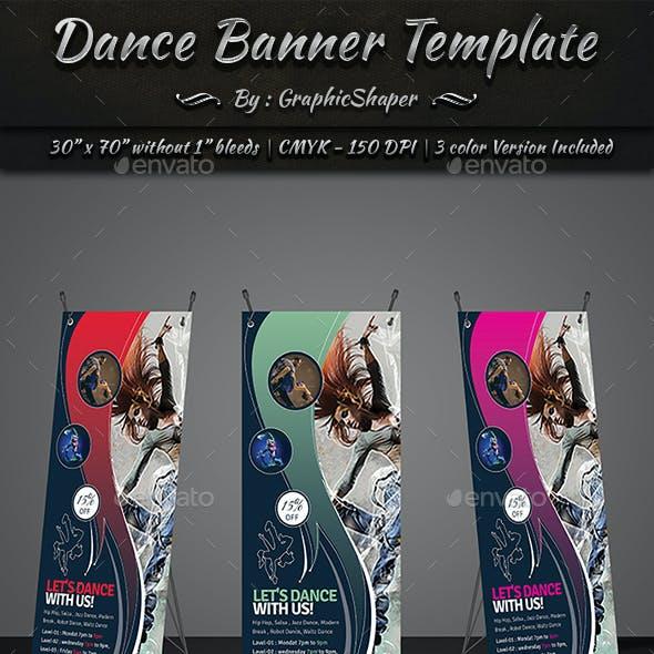 Dance Banner Template