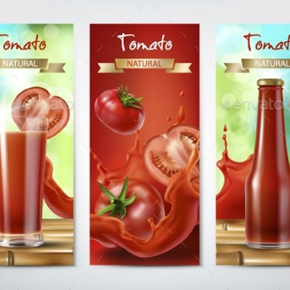 Tomato Juice and Ketchup Ad