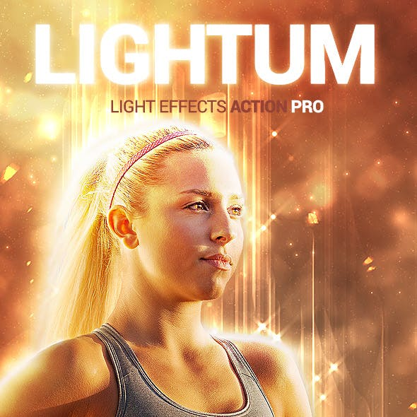 Light Effects - Lightum - Photoshop Action